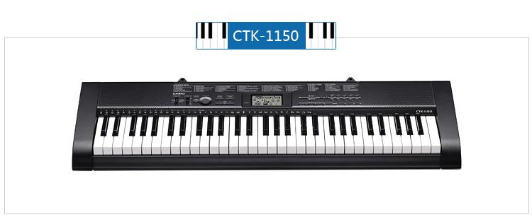100种音色、100种节奏、100首歌曲库乐曲 内置100首乐曲的歌曲库! 100首精心挑选的歌曲库乐曲*,附赠曲谱,让弹奏电子琴弹更有乐趣。 *由于版权限制,有些乐曲未被曲谱收录。 左右手声部开启/关闭的教学功能 可以跟随内置歌曲回放单独练习左手或右手声部。 易读显示屏(液晶显示屏) 显示音色、节奏、歌曲名称、节拍器、速度、鼓点、弹奏的音符、和弦、歌曲库指法等内容。 歌曲库控制器) 控制方法如同CD播放器(播放/暂停,停止,后退,快进),一用就上手。 助您发挥最佳水平的功能特点! 61键原尺寸琴键,与原